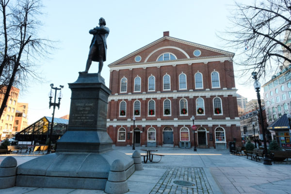 Faneuil Hall Boston Freddom Trail