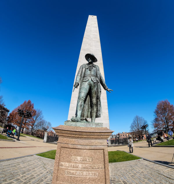 Bunker Hill Monument Boston freedom trail 22