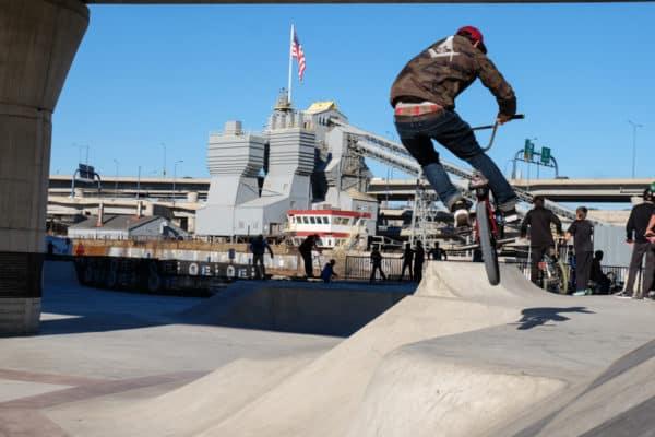 Lynch Family Skatepark Boston