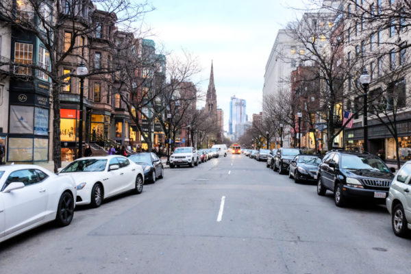 Visiter Boston Newbury Street